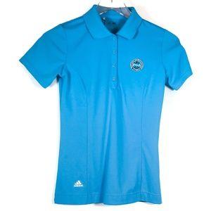 Adidas Women's PGA PureMotion Short Sleeve Polo
